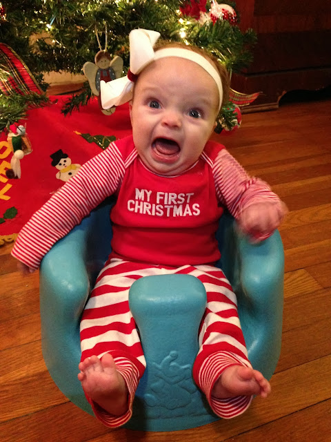 Funny Baby Christmas picture
