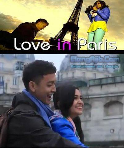 ... Love in Paris kan..!!..nah soundtrack lagu nya adalah Dia milik sammy