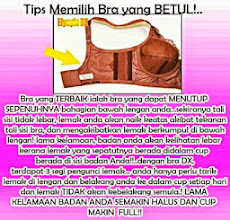Tips Memilih Bra :-)