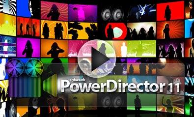 cyberlink powerdirector 11 logo