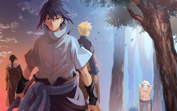sasuke itachi uchiha brothers naruto anime hd wallpaper 1920x1200