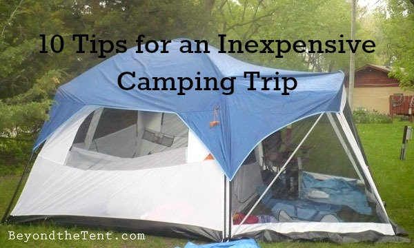 10 Cheap Camping Ideas