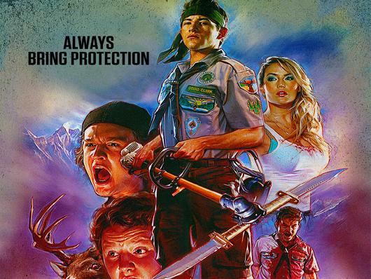Nuevo póster de 'Scouts Guide to Apocalypse Zombie'