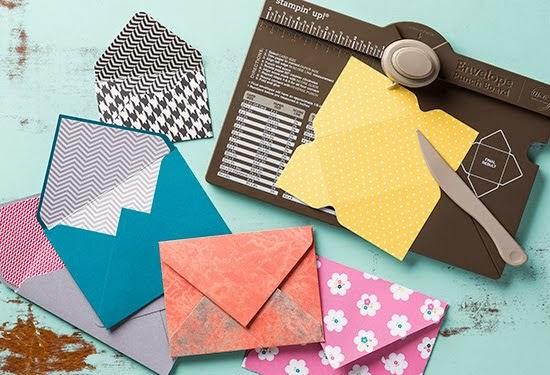 Envelope Punch Board - Stanz und Flazbrett für Umschläge