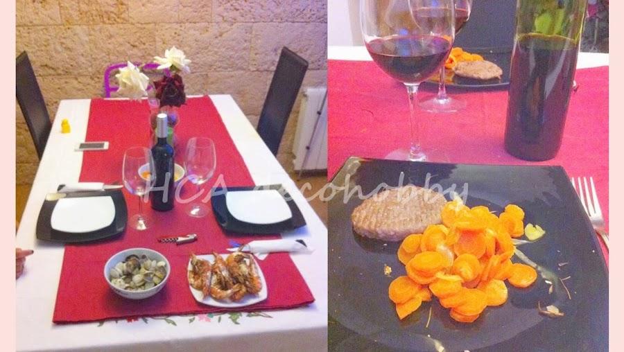 Recetas para una cena romantica for Platos para una cena romantica
