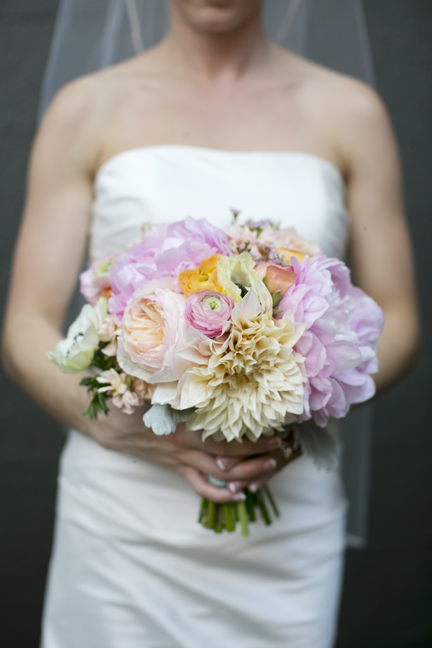 cafe au lait dahlia bouquet for muted blush wedding flowers juliet garden rose blush ranunculus white anemone pink peony