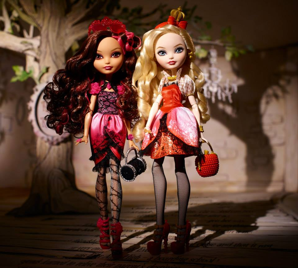 Ever after high briar beauty doll getting fairest