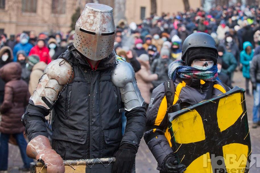 Знаменитый рыцари Майдана.