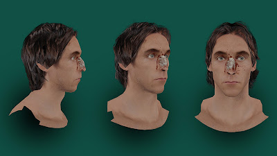 NBA 2K13 Steve Nash Injured Cyberface with Blood