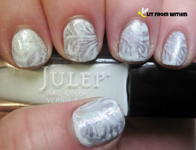 stamped with Julep Alfre, Isla, and Piper.