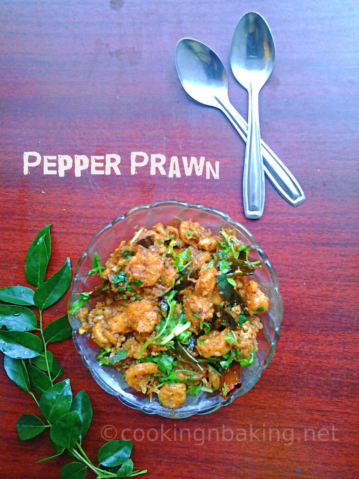 Pepper Prawn | How to make Pepper Prawn