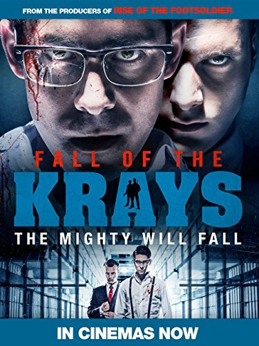 Poster Of Fall Of The Krays 2016 English HDRip Full Movie