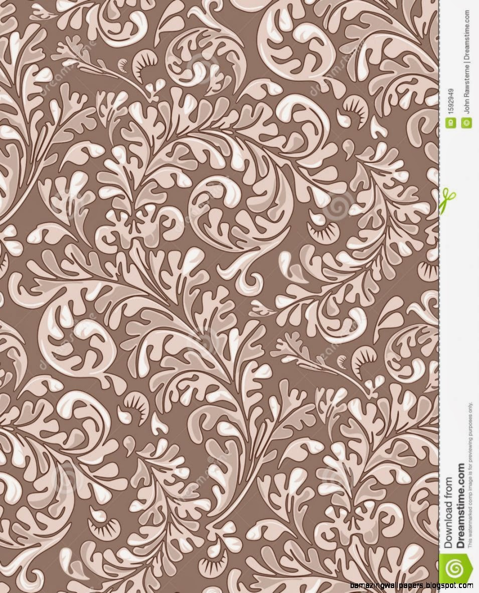 Seamless Vintage Wallpaper Pattern Royalty Free Stock Images