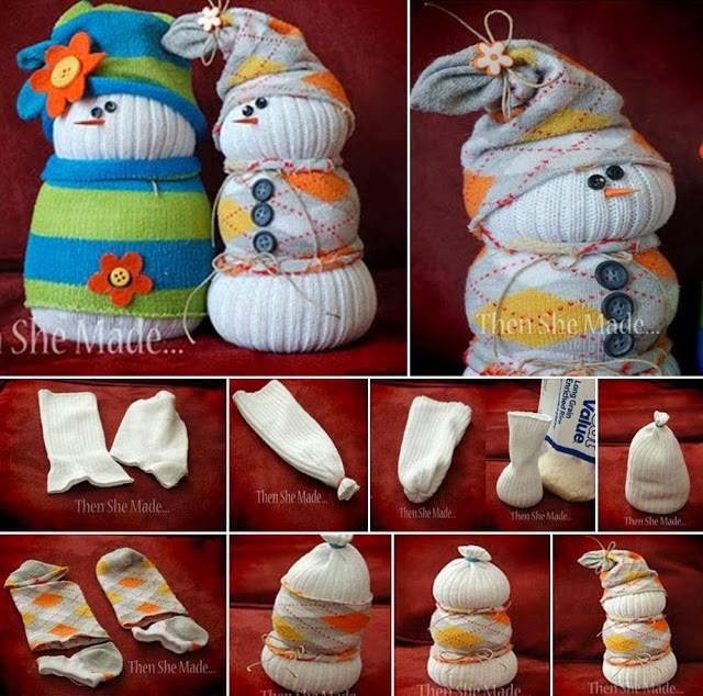 Make Some Dolls Form Winters Used socks...