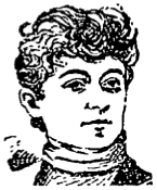 1894 sketch of Florida Ruffin Ridley