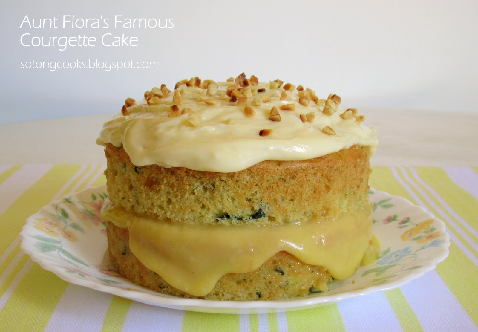 Nigella Lawson How To Be A Domestic Goddess Courgette Cake