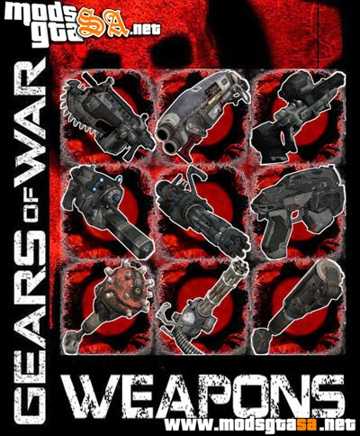 SA - Pack de Armas Gears of War