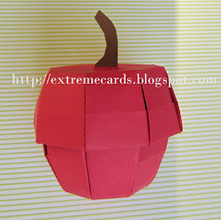 apple box from cardstock