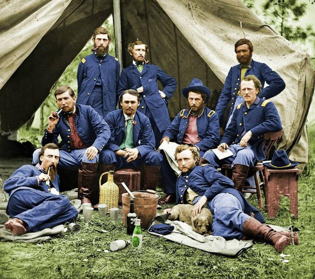Mama Congo Friday List Civil War Pictures In Color