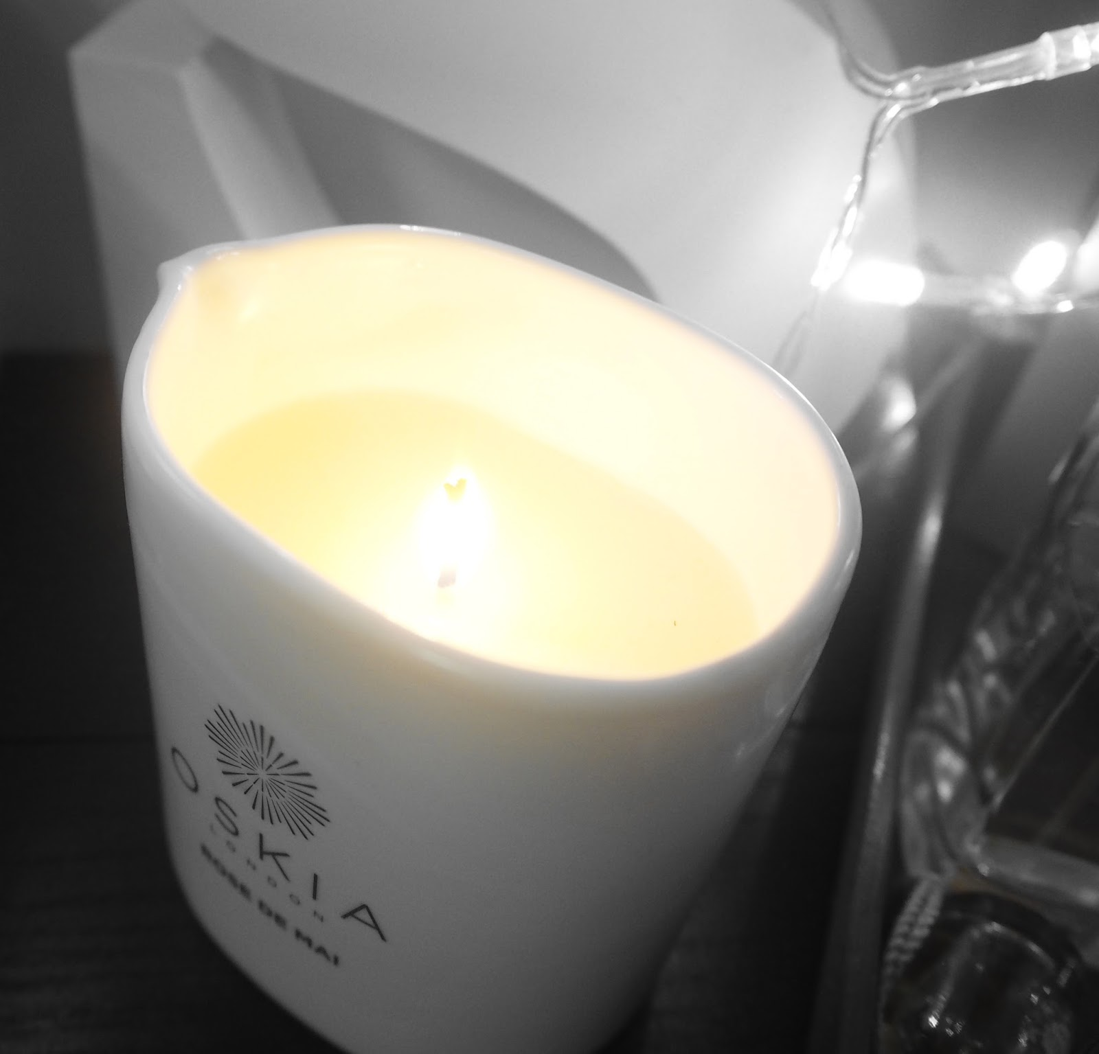 Oskia Rose De Mai massage candle review