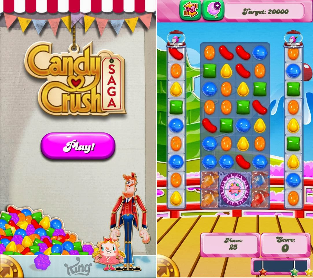 Cherry Mobile Omega XL Candy Crush Saga