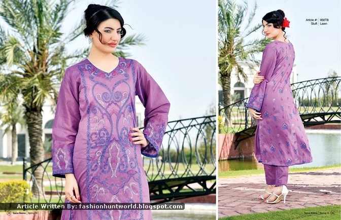 Taana Baana Bahaar-e-2015 Spring Collection