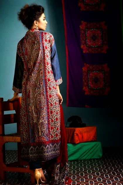 Khaadi Lawn Unstitched Collection 2014