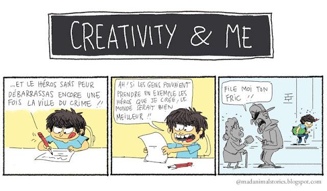 Creativity and Me - Le courage de l'auteur