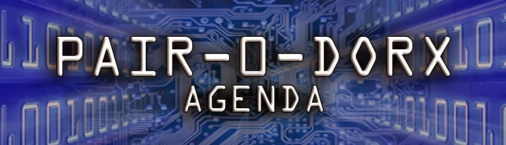 Pair-O-Dorx Agenda