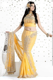 Latest Lehnga Sarees for Bride