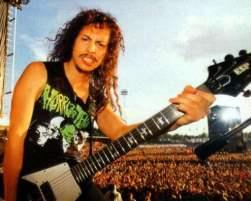Frases de fama Kirk Hammett