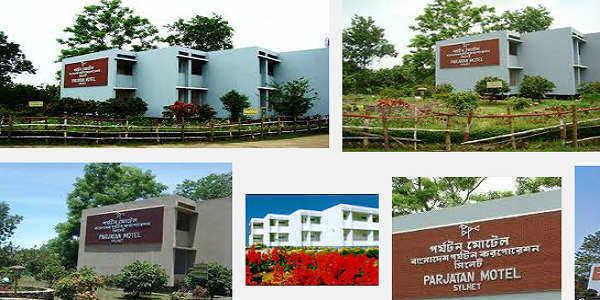 Sylhet Parjatan Motel Room Tariffs