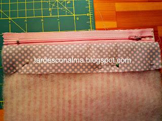 DIY, tutorial, costura, patchwork, paso a paso, moldes, patrones, neceser, fácil, barato