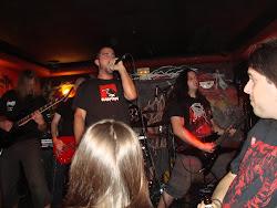 Barbarian Prophecies en el Pub TNT de Santiago de Compostela (25/09/11)