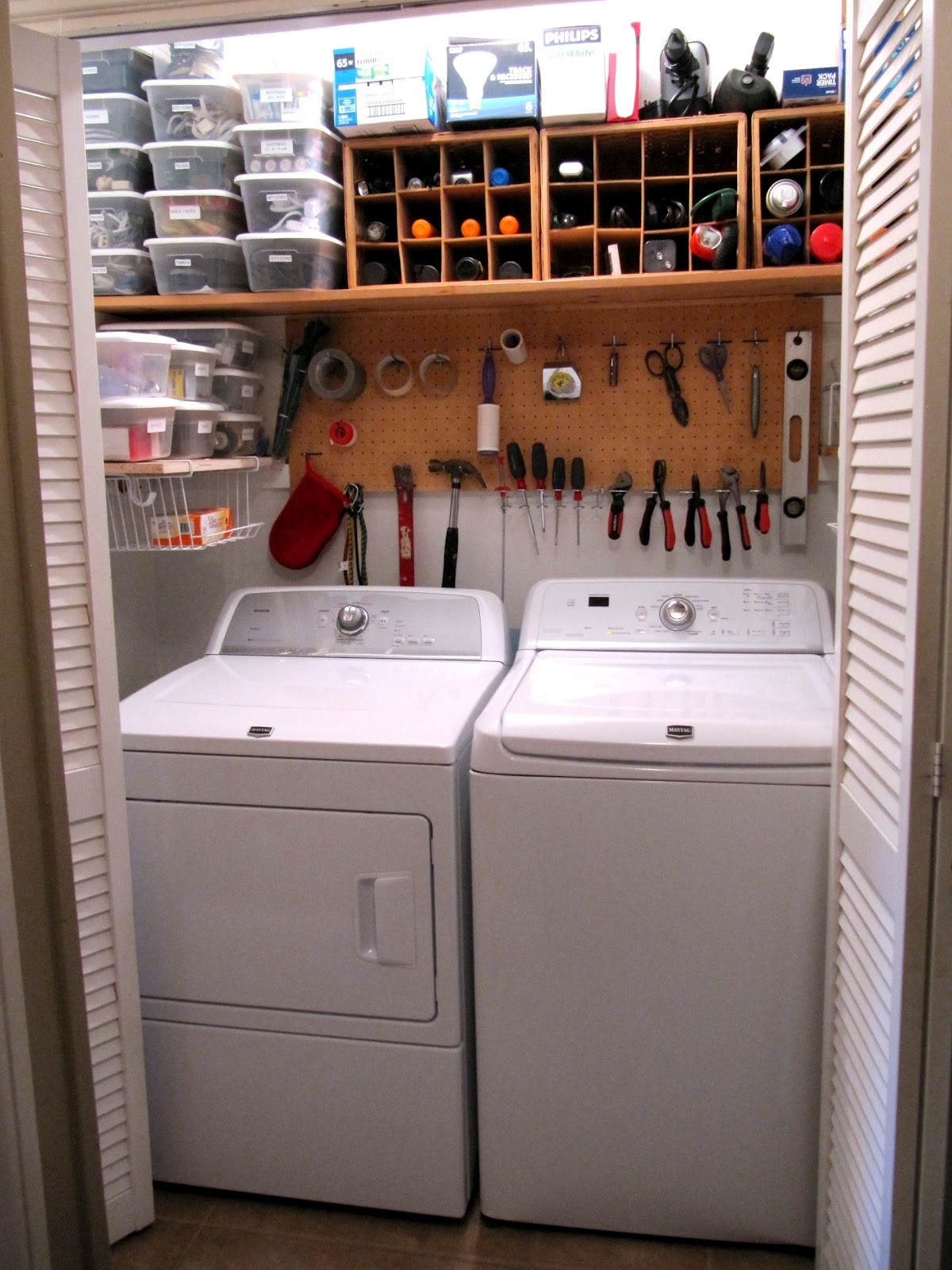 How's your laundry room, closet, area doing?