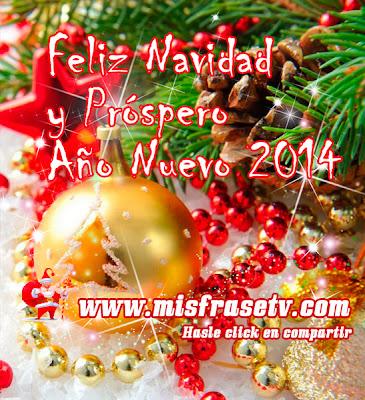 Bonitos Carteles de Navidad y Año nuevo 2014 - Imágenes
