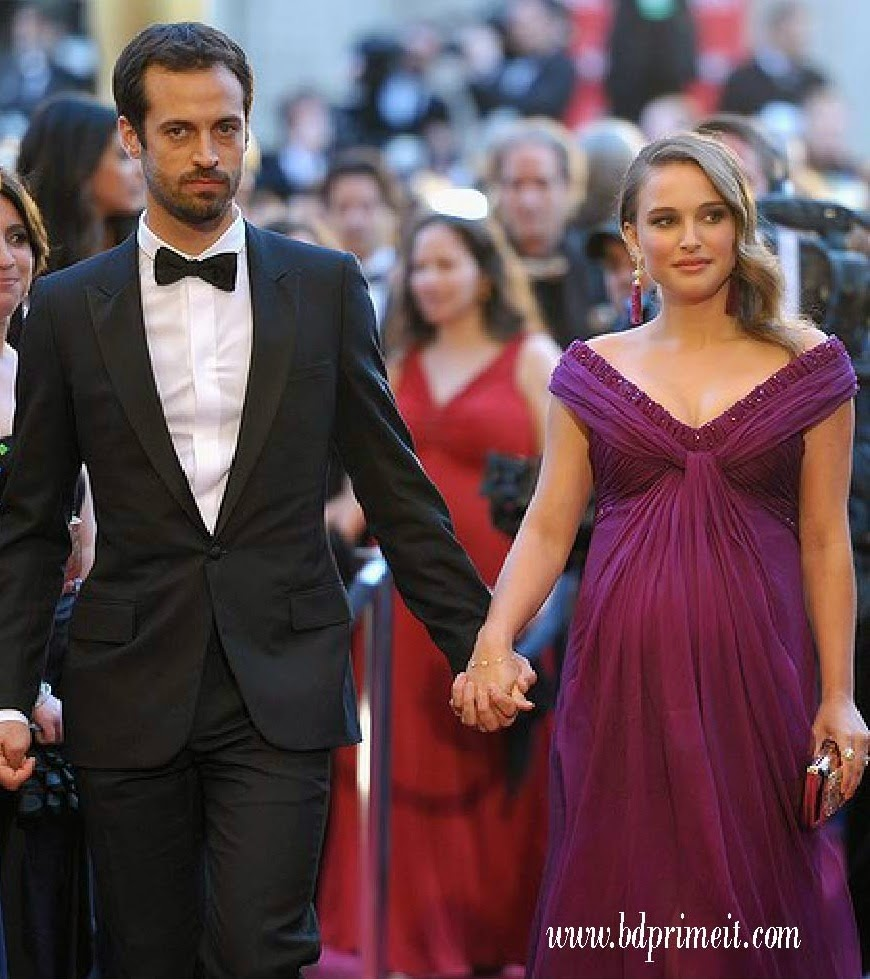 Natalie Portman with her Husband :
