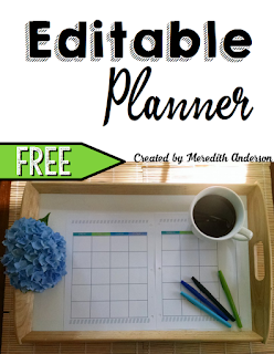 https://www.teacherspayteachers.com/Product/Editable-Planner-FREE-1922655