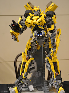 sydney brick show - lego bumblebee... sadly he didn't transform