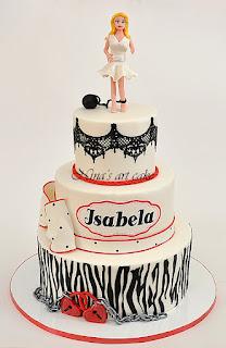 Tort aniversar pentru Isabela