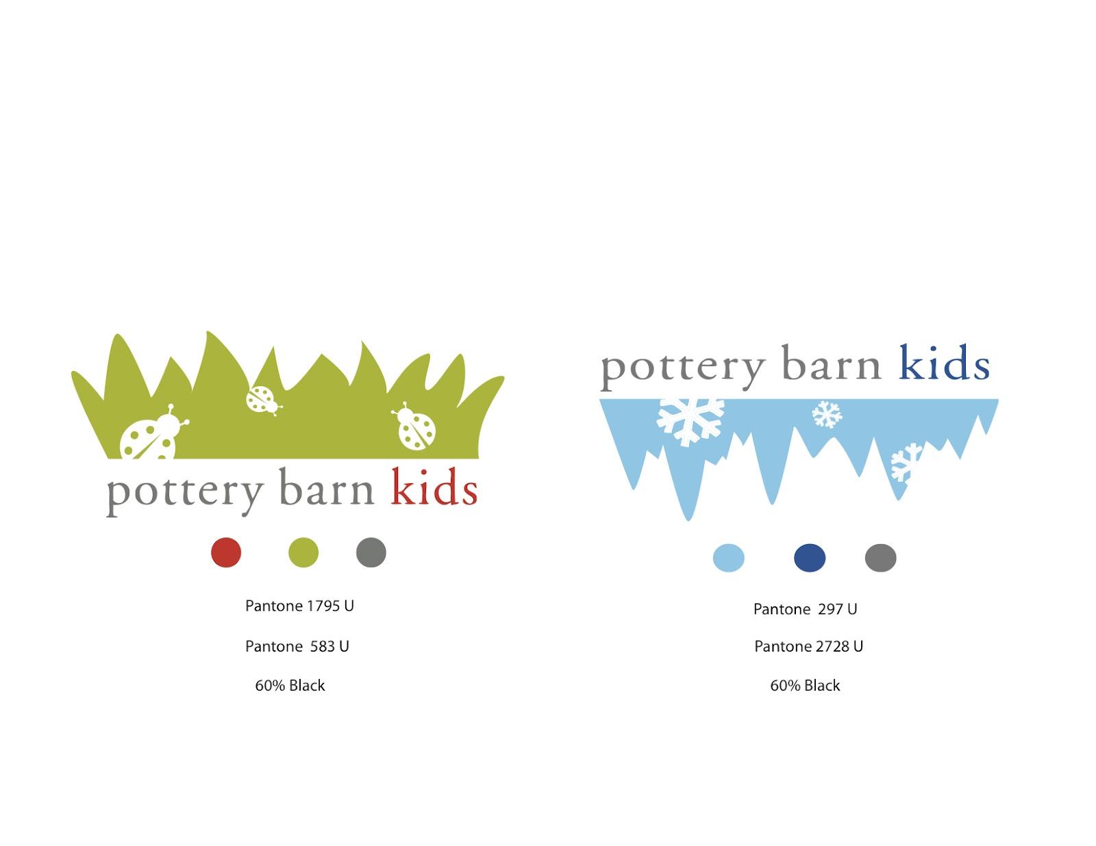 POTTERY BARN KIDS LOGO AN ONLINE PORTFOLIO FOR KASS GROSS
