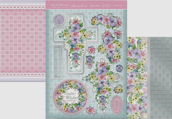 Hunkydory Easter die cut toppers & card at Foil Play