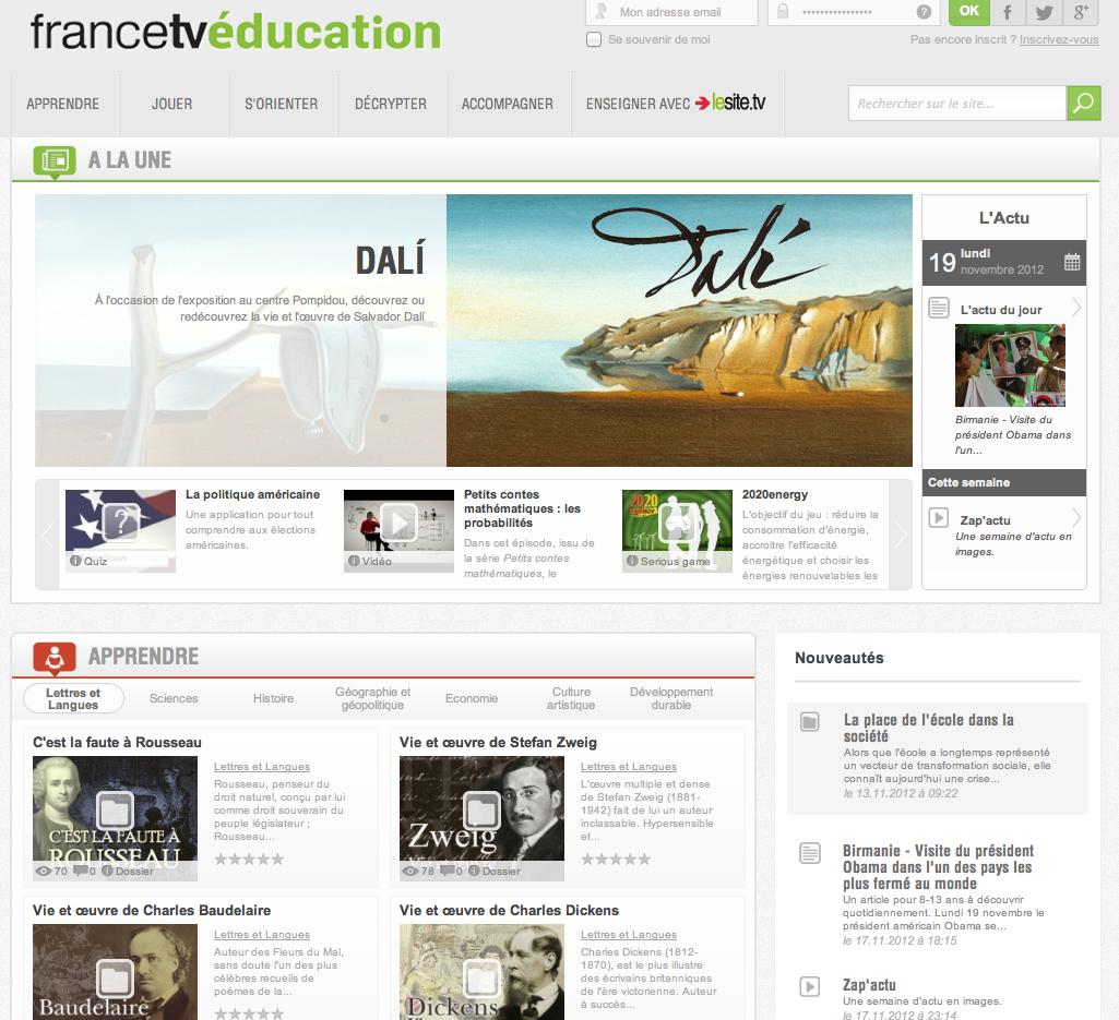 http://education.francetv.fr/
