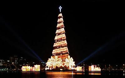 árbol de navidad en Brasil