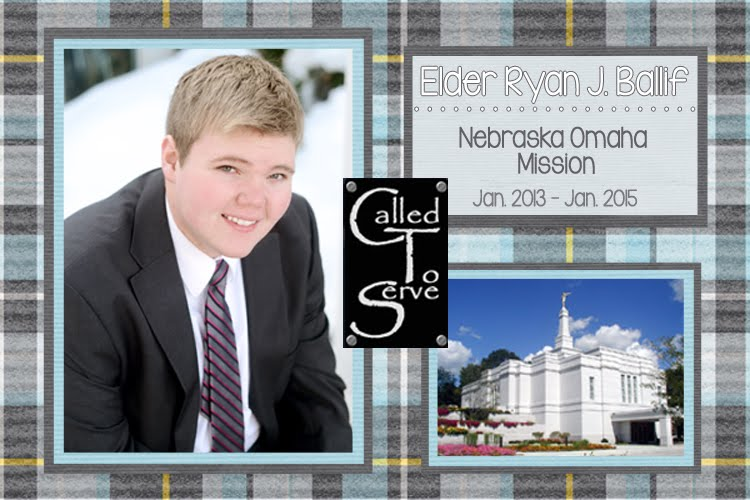 Called to Serve: Elder Ryan J. Ballif