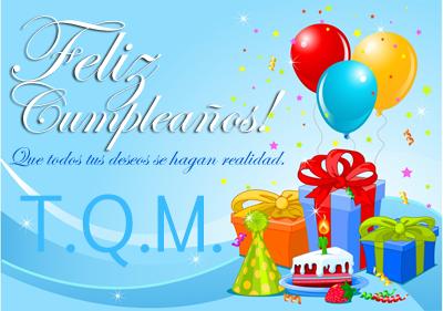 ¡Feliz cumpleaños! Que todos tus deseos se hagan realidad. Tarjetas de felicitaciones para compartir.