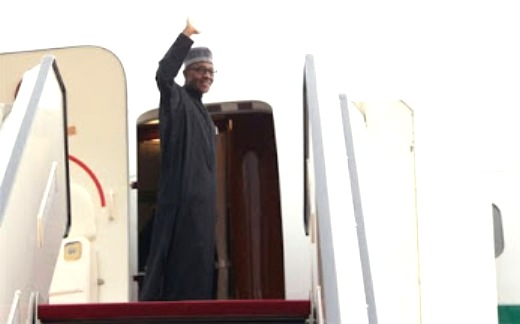 President Buhari Off To South Africa, Heading AU Summit