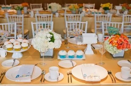 Festa de 20 anos de casados - decoração e alianças
