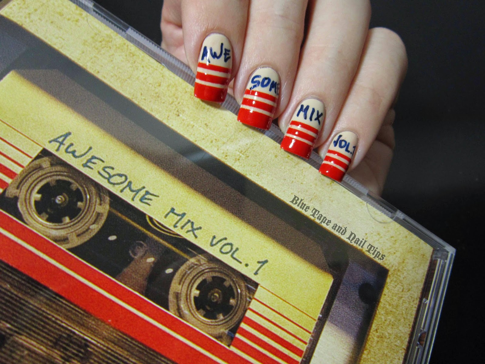 Blue Tape and Nail Tips: Awesome Mix Vol. 1 (Or, Guardians Of The ...