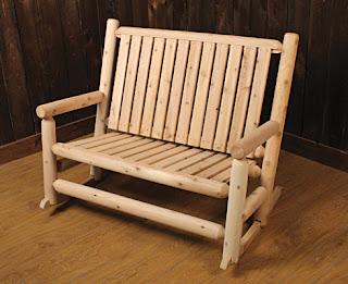 Cedar Log Furniture Plans